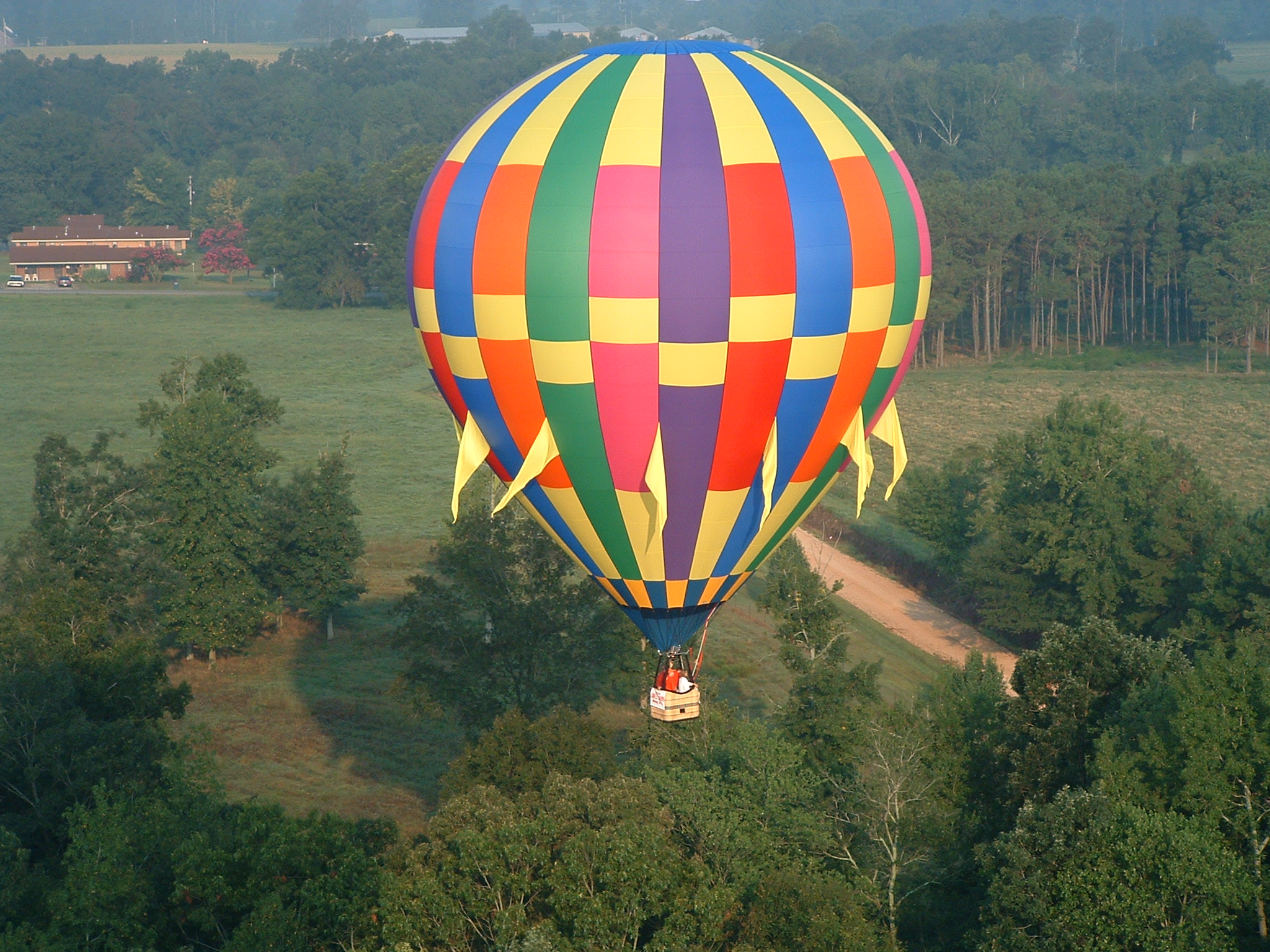 Hot Air Balloon Rides Huntsville Al